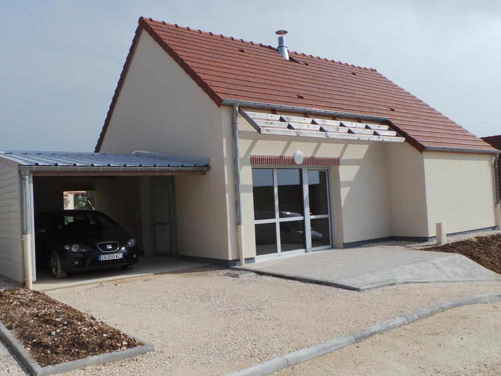 Résidence Les Séniors, Courson-les-Carrières - ATRIA Architectes à Auxerre, Bourgogne