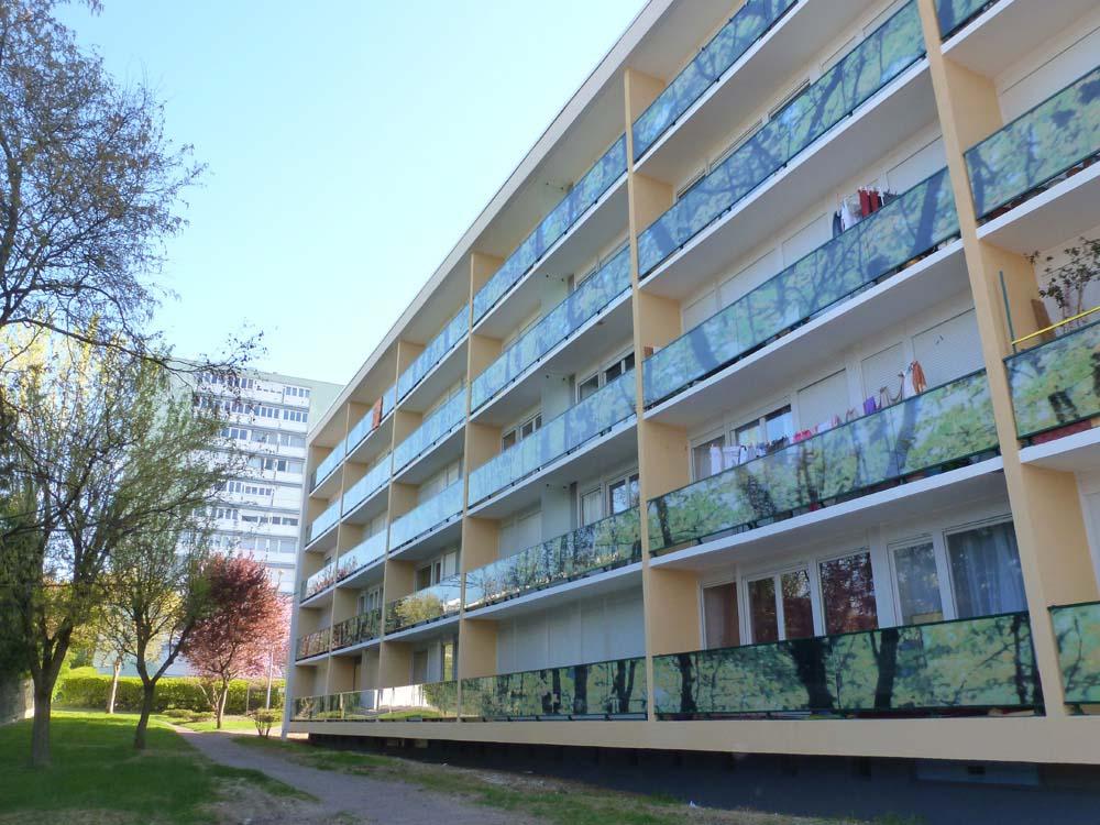 Résidence La Madeleine, Joigny - Rénovation Thermique - ATRIA Architectes à Auxerre, Bourgogne
