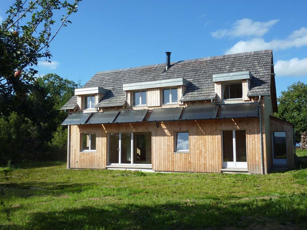 Maison Eco - Quarré-Les-Tombes - ATRIA Architectes à Auxerre, Bourgogne