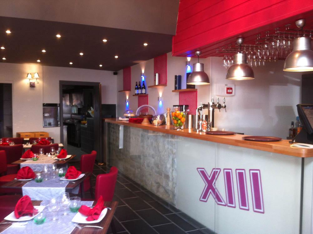 Restaurant Le XIII, Auxerre - ATRIA Architectes à Auxerre, Bourgogne