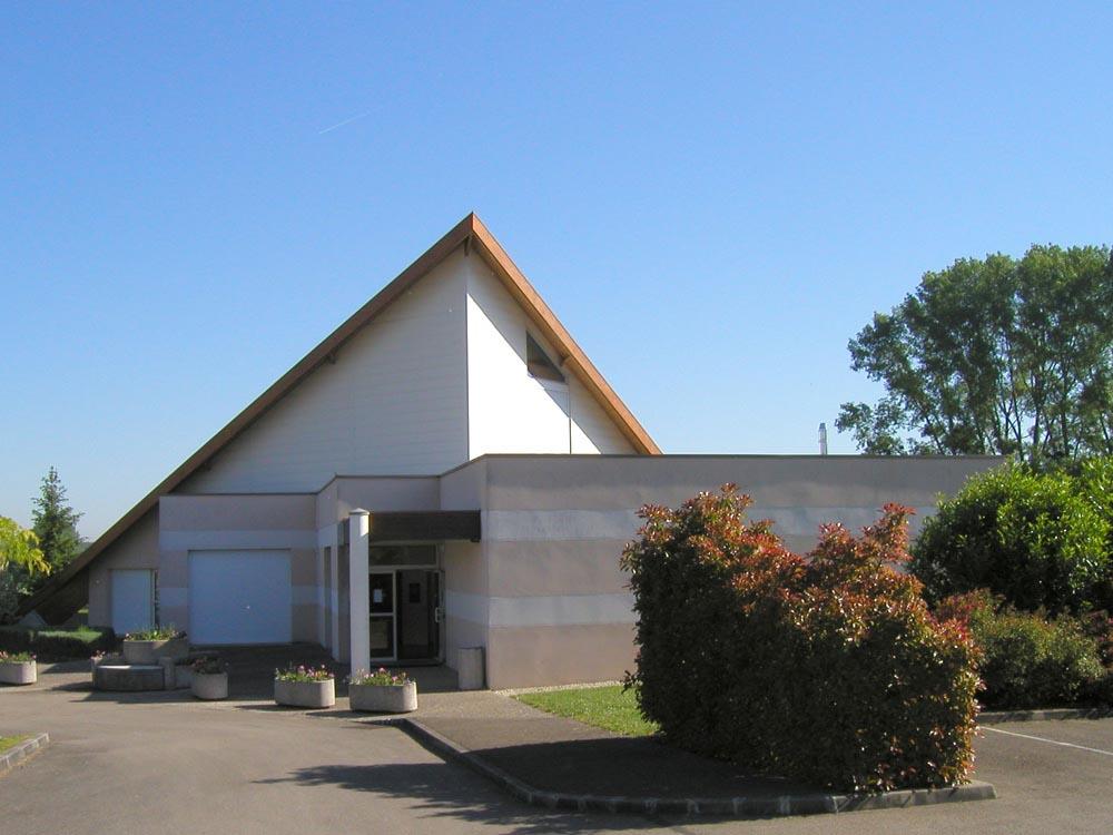 Zone Culturelle et Sportive, Perrigny - ATRIA Architectes à Auxerre, Bourgogne